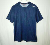 Fila Sport Activewear Fitness Short Sleeve T Shirt Size Medium M Mens Clothing