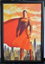 SUPERMAN The MAN Of Steel Framed PRINT DC Comics Alex Ross