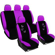 Auto Sitzbezug Sitzbezüge Universal Schonbezüge Schonbezug Lila/Schwarz AS7245