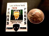 RARE NYPD PRESS PASS DEPUTY COMMISSIONER CHALLENGE COIN