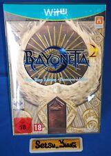 BAYONETTA 2 EDITION PREMIERE FIRST PRINT EDITION NINTENDO WII U NEUF