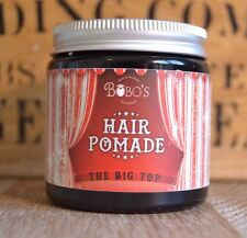 Bobo's Beard Company Big Top Strong Hold Hair Pomade Styling Wax Creme Gum Paste