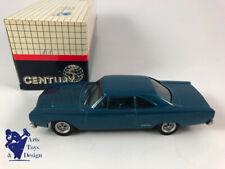 1/43 AMR CENTURY PLYMOUTH GTX 1969 BLEU FACTORY BUILT