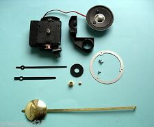 UTS German Quartz CHIMING Pendulum clock movement kit 16mm shaft