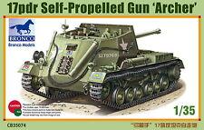 Bronco Model kit 1/35 British 17-pdr Self-Propelled Gun 'Archer' #CB35074