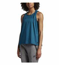 Nike Womens Sportswear Bonded Tank Industrial Blue/Black 833454-457