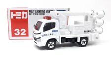 Tomica Modellauto LKW Nr 32 Toyota Dyna Beleuchtungsfahrzeug weiß Takara Tomy