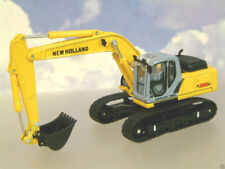 DIECAST 1/87 HO NEW HOLLAND E215B TRACKED BACKHOE EXCAVATOR/DIGGER BY MOTORART