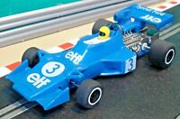 Scalextric 1:32 C121 1976 Tyrrell Elf 007 Ford Cosworth V8 F1 Formula 1 RESTORED