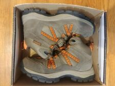 Boys Northside Freemont Waterproof Hiking Boots Brown Suede Kids Size 2 NEW
