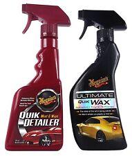 MEGUIAR'S MEGUIARS Ultimate Quik Wax Wachs & Quik Detailer Lackreiniger