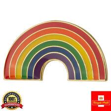 Rainbow NHS Hope Enamel Lapel Pin Badge Key Workers THANK YOU Gold Pin Nice Gift