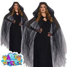 Amscan Black Temptress Cape - Halloween Fancy Dress Dark