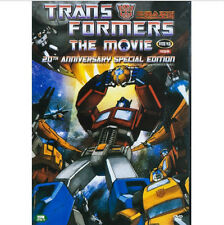THE TRANSFORMER Animation (1986) DVD - The 20th Anniversary Movie (New & Sealed)