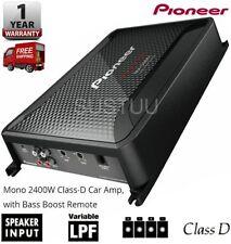 Pioneer Mono Channel Car Audio Amplifiers