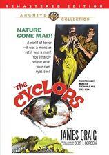 The Cyclops 1957 (DVD) James Craig, Gloria Talbott, Lon Chaney Jr - New!