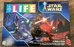 The Game of Life STAR WARS A Jedi's Path Edition Board Game | 100% Complete 2002
