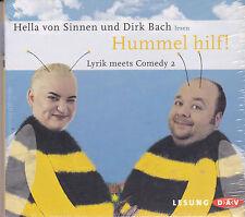 Hella von Sinnen und Dirk Bach - Hummel hilf ! Lyrik...- Hörbuch - CD - Neu/OVP