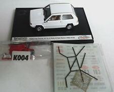 BRUMM ARENA 1:43 FIAT PANDA 30 GR A RALLY SAN REMO 1982 BIANCO #103   ART K004