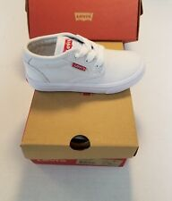 Levi's white red Sneaker (Toddler) size 9