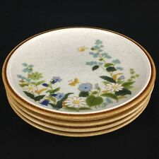 "Lot of 4 VTG Salad Plates 7 1/2"" Mikasa Natural Beauty Petit Fleur C9054 Japan"