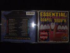 2 CD ESSENTIAL SUNDAY GOSPEL BRUNCH / RARE /