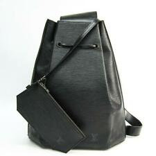 Louis Vuitton  Black Epi Noir Sac a Dos Sling Backpack Hobo Drawstring 859821