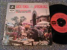 "LUCIE YENGA AVEC L'ORCHESTRA - AFRICAN JAZZ ( JOSETTA ) 7"" 45 RPM RARE COLUMBIA"