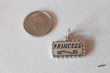 NEW .925 Sterling Silver GIRL/GIRLIE PRINCESS Charm for Bracelet or  Necklace