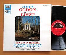 ALP 2051 John Ogdon Plays Liszt B Minor Sonata etc 1964 EMI Mono NM/EX