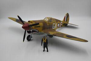 21St-Century Toys Ultimate Soldier 1:18 P 40 Warhawk RAF Plane Pilot