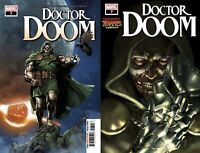 Marvel Comics Doctor Doom #7 Main + Mercado Zombies Variant NM 9/23/2020