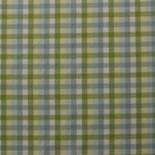 """STRIPED CHECK SPA BLUE GREEN 100% COTTON MULTIPURPOSE WOVEN FABRIC BY YARD 56""""W"""