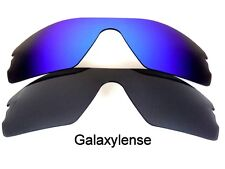 Galaxy Replacement Lenses for Oakley Radar Path Black&Blue Polarized 2 Pairs