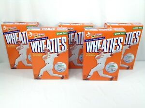 Wheaties Mark McGwire 70 Home Runs Cereal Box Lot - Opened - 5 Boxes