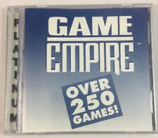 New Game Empire Platinum CD Vol1 250 PC Vintage software games Shareware Softkey