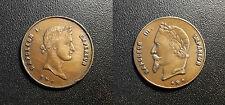 Médaillette commémorative - Napoléon Ier et Napoléon III - MCN.50.6