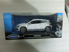 1:24 Welly 24007W VW Scirocco 3 weiss (Sch1/2)