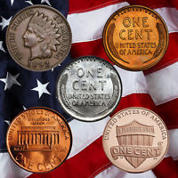 100 Years of American Cents (5 Coin Set)