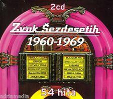 Zvuk Sezdesetih 2 CD 1960 - 1969 Croatia Kroatien Hrvatska 54 Hita Arsen Tereza