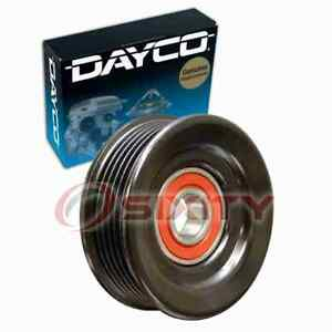 Dayco Grooved Pulley Drive Belt Idler Pulley for 2000-2011 Lincoln Town Car cw