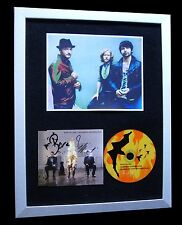 BIFFY CLYRO+SIGNED+FRAMED+SATURDAY+OPPOSITES=100% AUTHENTIC+EXPRESS GLOBAL SHIP