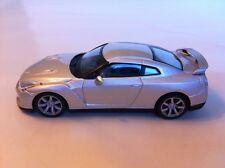 NISSAN GT-R 2008 MET ARGENT IXO BULLE PACK 1:43 Echelle Pièce Travaillée