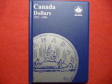 UNI-SAFE  CANADIAN  DOLLARS  FOLDER  ALBUM  BLUE  (1935 - 1986  ) (#1)