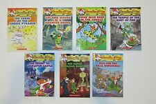 Lot 8 Geronimo Stilton Books PICTURE READERS RL3 Edits Newspaper In Mouse City