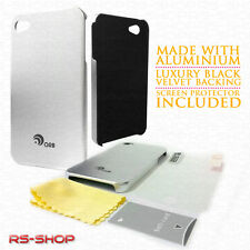 Ultra Thin Aluminium Metal Case Cover For Apple iPhone 4/4S + Screen Protector
