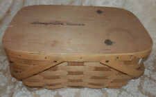 Vintage SNAP ON TOOLS Picnic Basket 80's Collectible