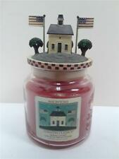 Yankee Candle Macintosh Country Classics Warren Kimble w/ Candle Topper 14.5 oz.
