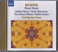 CD 0113 Busoni Piano Vol 3 Wolf Harden Naxos UK Import New Sealed