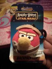 NEW Star Wars Angry Birds Plush Luke Skywalker Backpack Clip